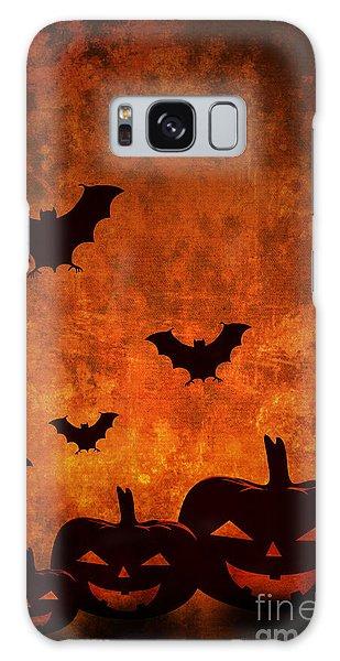 Halloween Pumpkins Galaxy Case
