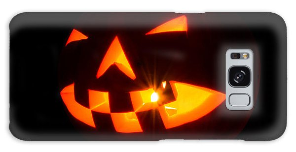 Halloween - Smiling Jack O' Lantern Galaxy Case