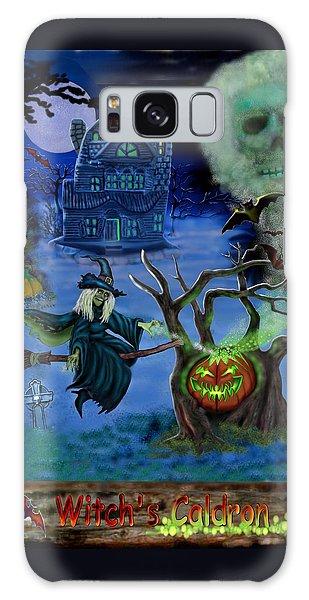 Halloween Witch's Coldron Galaxy Case by Glenn Holbrook