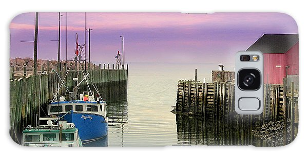 Halls Harbour Evening Galaxy Case by Brian Chase