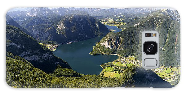 Hallstatt Lake Austria Galaxy Case