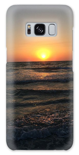 Halo Sun At Indian Rocks Beach Galaxy Case