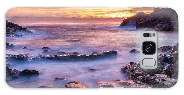 Halona Cove Sunrise 3 Galaxy Case