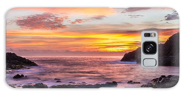 Halona Cove Sunrise 4 Galaxy Case