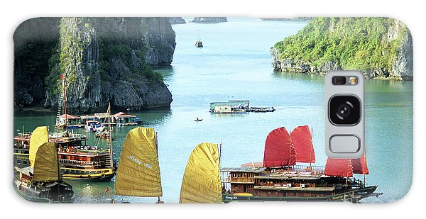 Halong Bay Sails 01 Galaxy Case