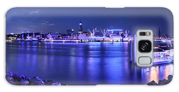 Hamburg Blue Port Panorama Galaxy Case