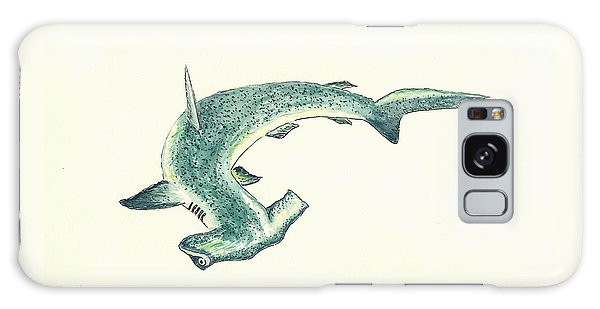 Sharks Galaxy Case - Hammerhead Shark by Michael Vigliotti
