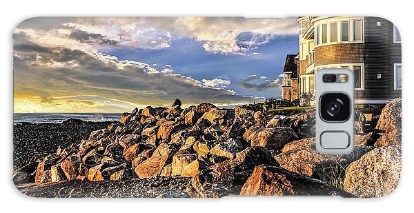 Hampton Beach Sunrise Galaxy Case