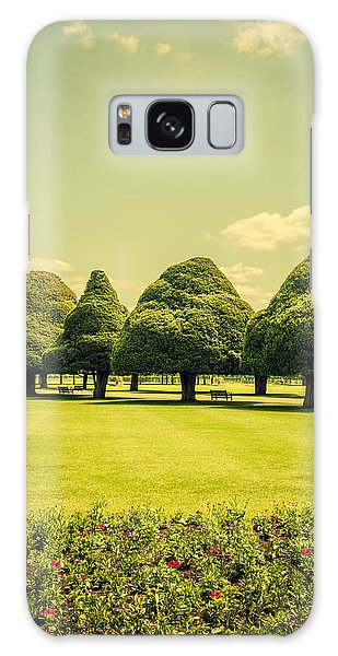Hampton Court Palace Gardens Summer Colours Galaxy Case