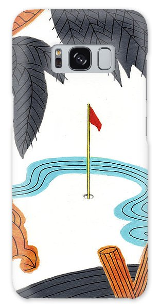 Hanafuda Golf For Cards Galaxy Case