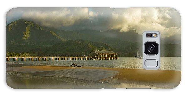 Hanalei Bay Reflections - Kauai Galaxy Case