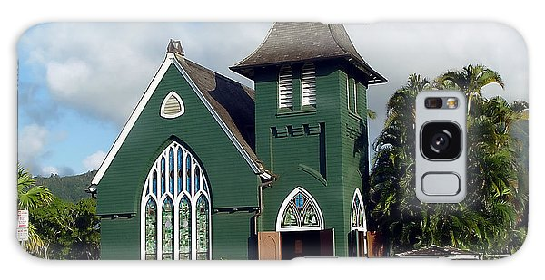 Hanalei Church Galaxy Case by John Bushnell