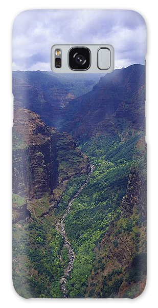Hanapepe Valley I Galaxy Case