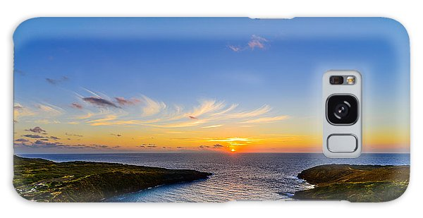 Hanauma Bay Sunrise Galaxy Case