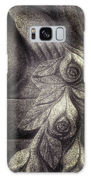 Hand And Roses Galaxy Case
