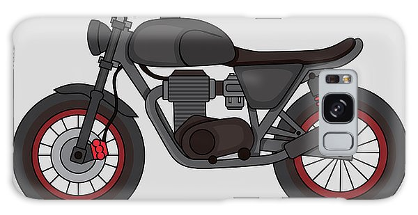 Made Galaxy Case - Hand Drawn Classic Motor Illustration by Glory Creative
