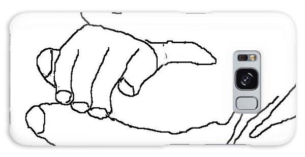 Hand In Hand Galaxy Case