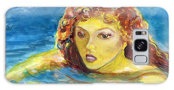Hand Painted Art Adult Female Swimmer Galaxy Case