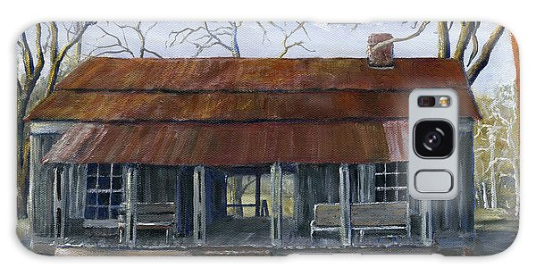 Hand Painted Art Dogtrot House In Pleasant Hill Louisiana Galaxy Case