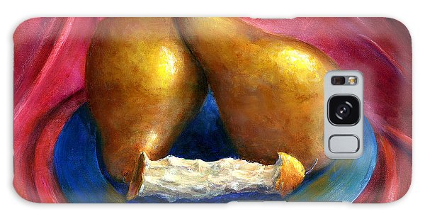 Hand Painted Art Fruit Still Life Pears Galaxy Case