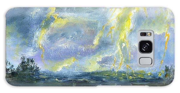 Hand Painted Art Louisiana Storm Galaxy Case