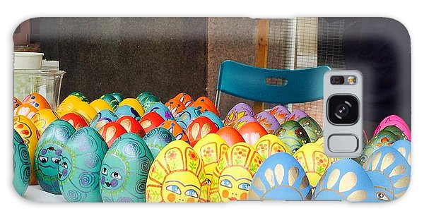 Hand Painted Eggs- 2014 Galaxy Case by Shirin Shahram Badie