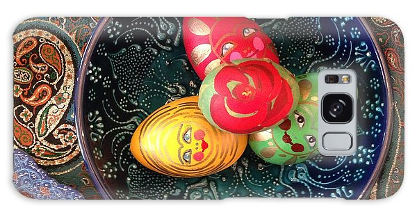 Hand Painted Eggs- Arezoo Galaxy Case by Shirin Shahram Badie