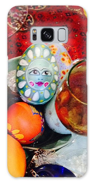 Hand Painted Eggs- Azadeh Galaxy Case by Shirin Shahram Badie