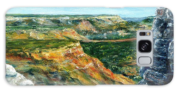 Hand Painted Palo Duro Texas Landscape Galaxy Case