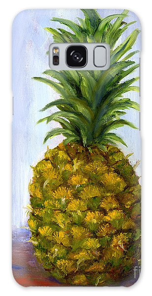 Hand Painted Pineapple Fruit  Galaxy Case
