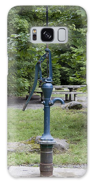 Hand Water Pump 02 Galaxy Case by S and S Photo