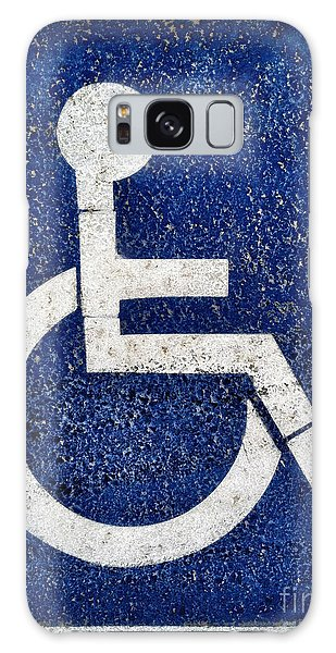 Handicapped Symbol Galaxy Case