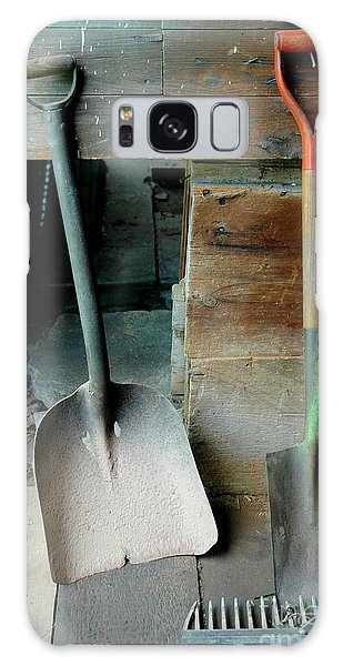 Galaxy Case featuring the photograph Handled And Raked by Christiane Hellner-OBrien