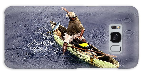 Handline Fisherman Galaxy Case