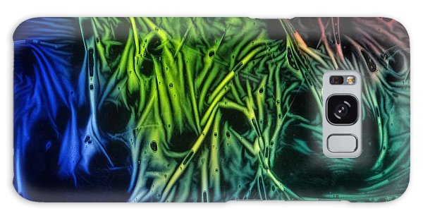 chemiluminescence photography Handprint Galaxy Case by David Mckinney