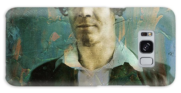 Abstract People Galaxy Case - Handsome Fellow 1 by James W Johnson