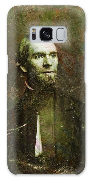 Abstract People Galaxy Case - Handsome Fellow 2 by James W Johnson