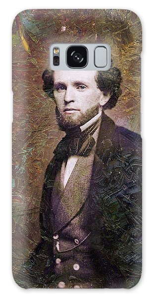 Abstract People Galaxy Case - Handsome Fellow 3 by James W Johnson