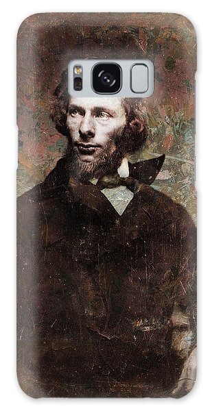 Abstract People Galaxy Case - Handsome Fellow 4 by James W Johnson