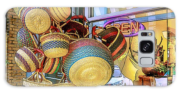 Hanging Baskets Galaxy Case