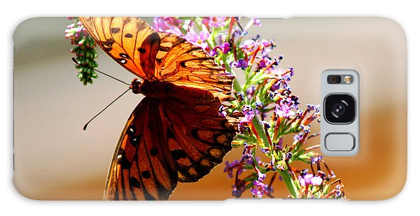 Hanging Butterfly Galaxy Case