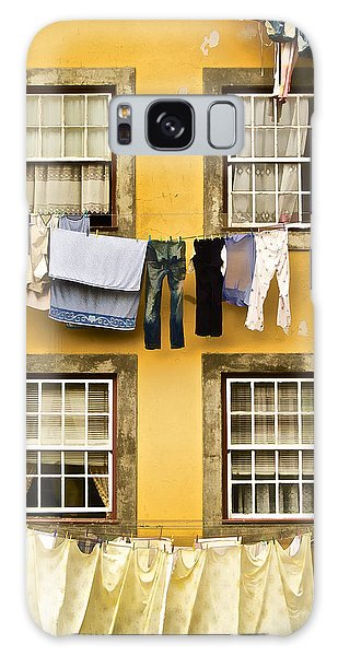 Hanging Clothes Of Old World Europe Galaxy Case