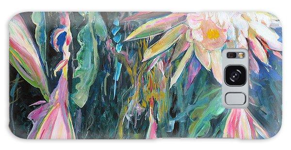 Hanging Garden Floral Galaxy Case