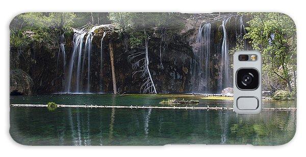 Hanging Lake Galaxy Case by Michael J Bauer