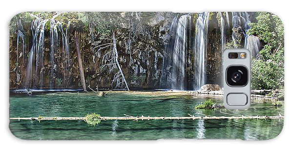 Hanging Lake Galaxy Case by Priscilla Burgers