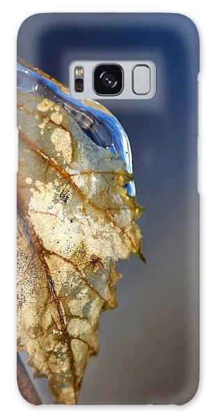 The Last Leaf  Galaxy Case by Debbie Oppermann