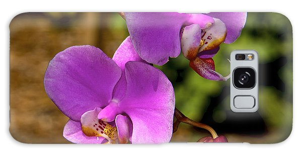 Hanging Orchids Galaxy Case