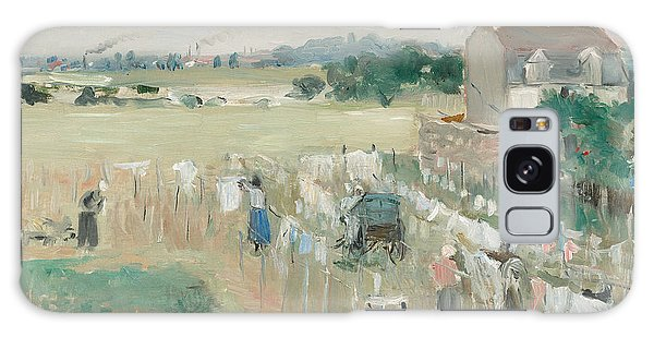 Tint Galaxy Case - Hanging The Laundry Out To Dry by Berthe Morisot