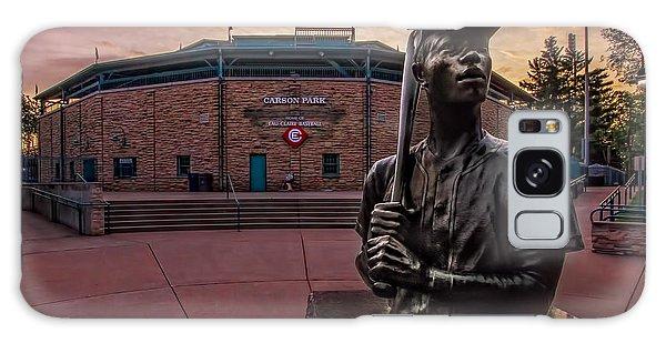 Hank Aaron Statue Galaxy Case