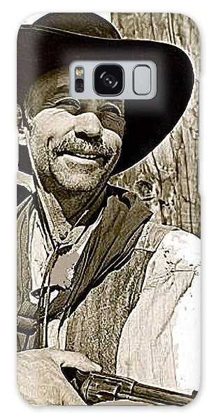 Hank Worden Publicity Photo Red River 1948-2013 Galaxy Case